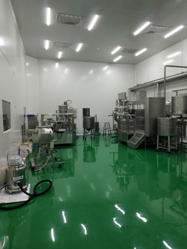 Phòng sản xuất đạt chuẩn GMP (Nguồn: Internet)